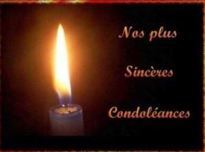 Sincere-Condoléance